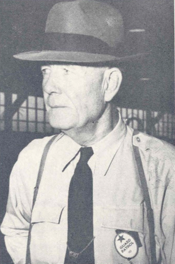 Daniel J. Lucey, first guard to be hired at Thunderbird, solved many famous murder cases during his long career as a Phoenix police detective. Retired from the force in 1939, he come to work to Southwest in February 1941.